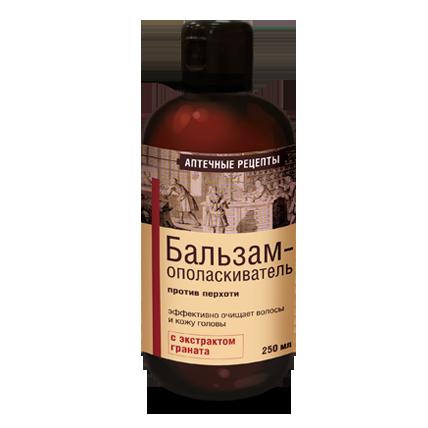 Бальзам-ополаскиватель с экстрактом граната против перхоти аптечные рецепты