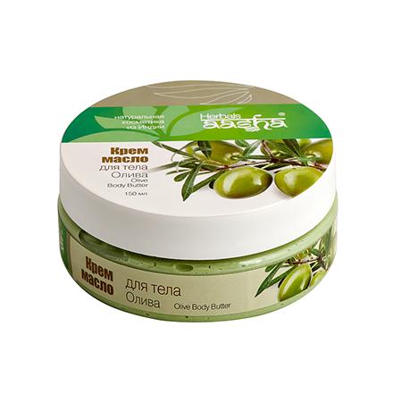 Крем-масло для тела олива aasha herbals оливковое масло для кожи