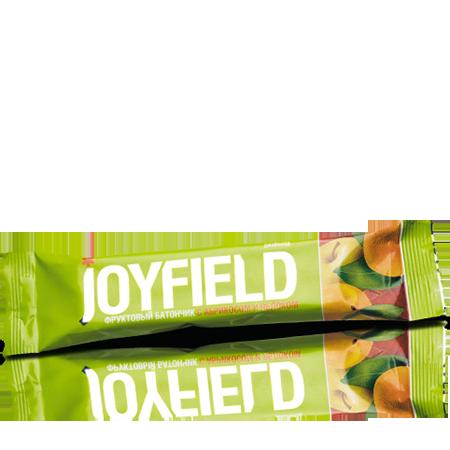 Фруктовый батончик с абрикосом и яблоком joyfield energy diet от DeoShop.ru