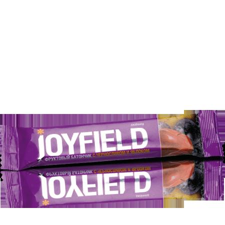 Фруктовый батончик с черносливом и яблоком joyfield energy diet от DeoShop.ru