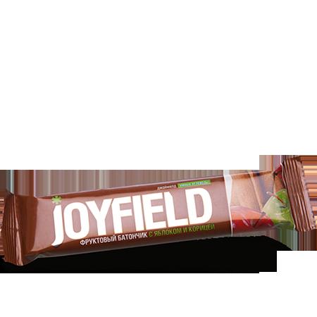 Фруктовый батончик с яблоком и корицей joyfield energy diet от DeoShop.ru