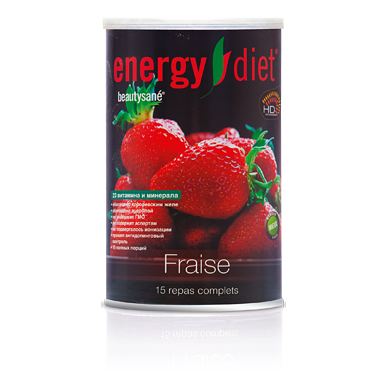 Коктейль «клубника» energy diet от DeoShop.ru