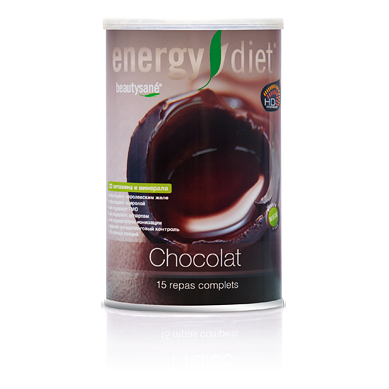 Коктейль «шоколад» energy diet вафли обожайка вкус шоколад 225 г