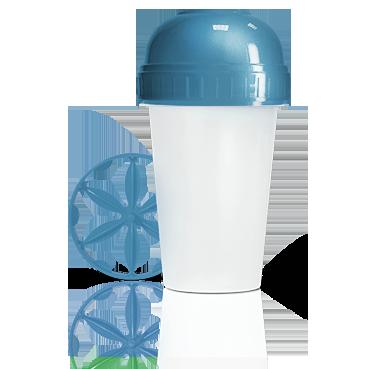 Шейкер синий energy diet от DeoShop.ru