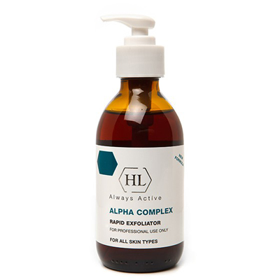 Пилинг alpha complex rapid exfoliator holy land