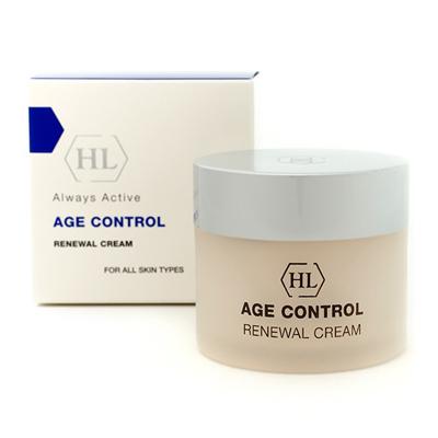 Обновляющий крем age control holy land holy land age control renewal cream обновляющий крем 50 мл