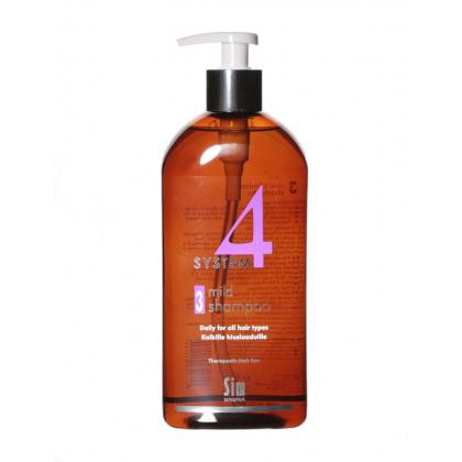 Терапевтический шампунь №3 sim sensetive 500 мл систем 4 восстановитель волос терапевтический с хитозаном r спрей 200мл