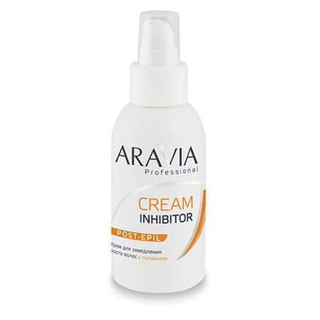 Крем для замедления роста волос с папаином aravia professional (Aravia)