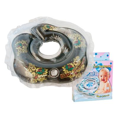 Детский надувной круг для купания хохлома baby swimmer (Baby Swimmer)