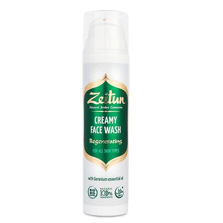 Крем-гель для умывания герань для всех типов кожи зейтун гели зейтун деликатный крем гель сандал и жасмин для умывания для сухой кожи