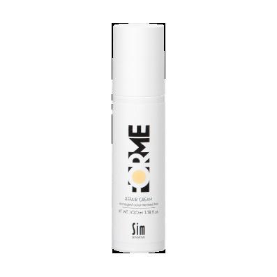 Несмываемый крем для поврежденных волос forme sim sensitive kapous studio professional крем краска для волос экстрактом женьшеня и рисовыми протеинами 7 8 карамель 100 мл