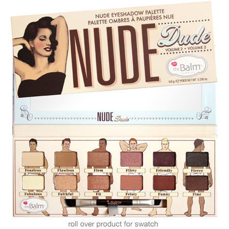 Палетка теней nude dude the balm