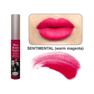 Стойкий матирующий блеск для губ meet matt(e) hughes sentimental the balm