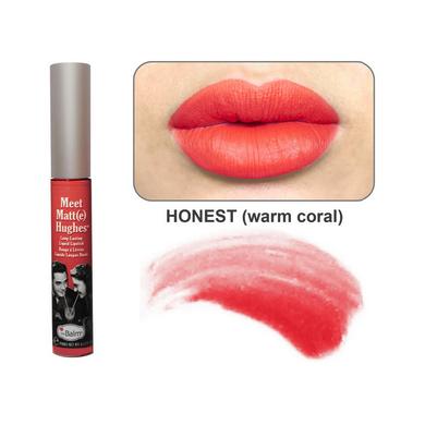 Стойкий матирующий блеск для губ meet matt(e) hughes honest the balm