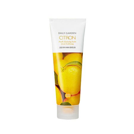 Очищающая пенка цитрус daily garden holika holika holika holika soda tok tok clean pore deep cleansing foam пенка глубоко очищающая для лица 150 мл