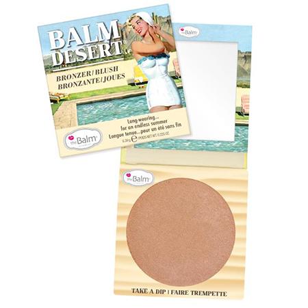 Бронзирующая пудра-румяна balm desert the balm