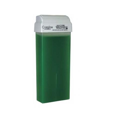 Воск в картридже с зеленым чаем color cristaline (Cristaline)