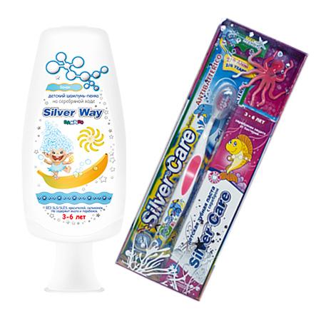 Подарочный набор для девочек silver care от DeoShop.ru