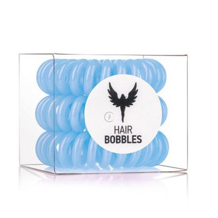 Резинка для волос голубая hair bobbles