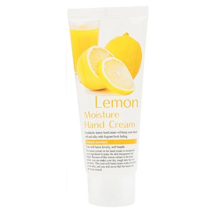Увлажняющий крем для рук с натуральным экстрактом лимона foodaholic (FoodaHolic)