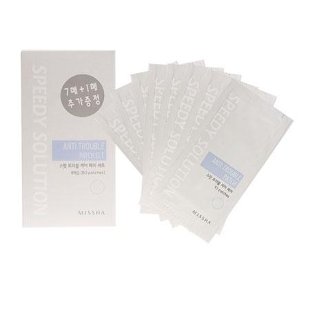 Патчи для носа speedy solution nose pore cleaning patch set missha (Missha)