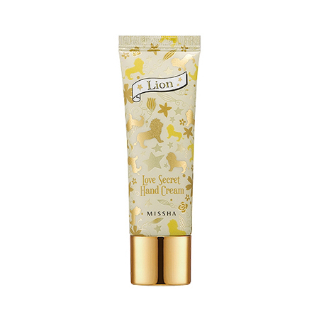 Крем для рук love secret hand cream (lemon glass / lion) missha (Missha)
