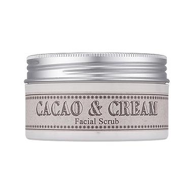 ����� ��� ���� � ����� cacao & cream facial scrub missha (Missha)