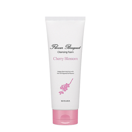 Пенка для лица очищающая flower bouquet cherry blossom cleansing foam (renew) missha (Missha)