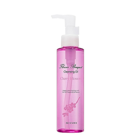 ����� ������������ ��������� flower bouquet cherry blossom cleansing oil missha (Missha)