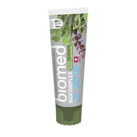 Зубная паста biocomplex долгая свежесть biomed