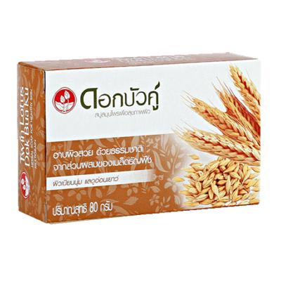 Мыло с травами обогащенное мультизерновыми экстрактами 40 гр twin lotus (Twin Lotus)