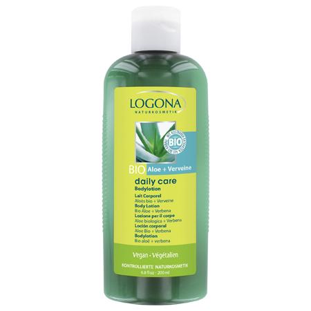 Лосьон для тела с био-алоэ и вербеной daily care logona logona daily care body lotion organic aloe verbena объем 200 мл