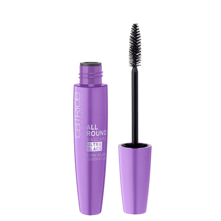 Тушь для ресниц allround mascara ultra black catrice