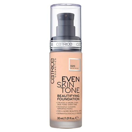 ��������� ���� even skin tone beautifying foundation (��� 020) beige rose catrice (Catrice)
