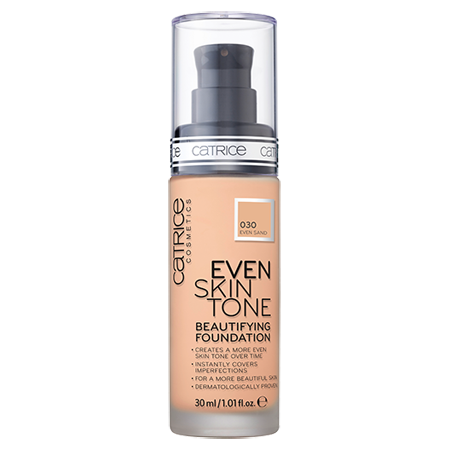 ��������� ���� even skin tone beautifying foundation (��� 030) even sand catrice (Catrice)