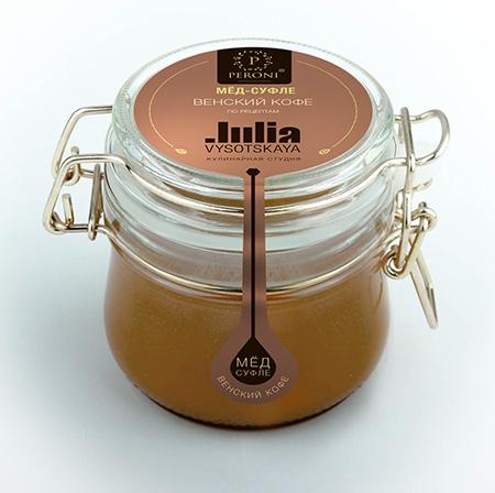 Мёд-суфле венский кофе 250 мл peroni honey D11185