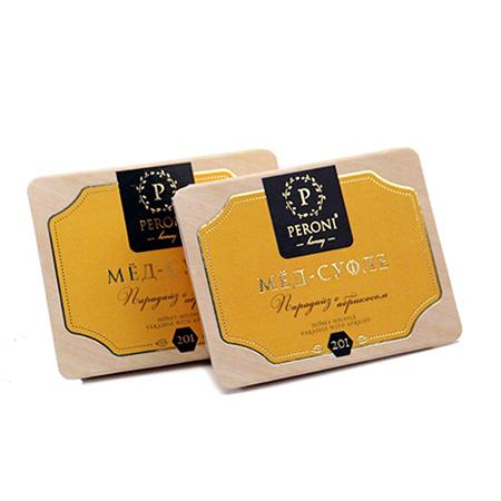 Мёд-суфле порционный парадайз с абрикосом (2х25мл) peroni