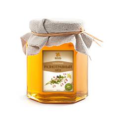 Мед разнотравный 250 гр янтарь (Янтарь)