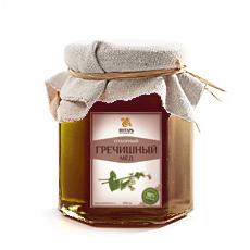 Мед гречишный 500 гр янтарь (Янтарь)