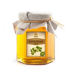 Мед липовый 500 гр янтарь (Янтарь)