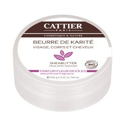 Масло карите с ароматом цветов cattier (Cattier)