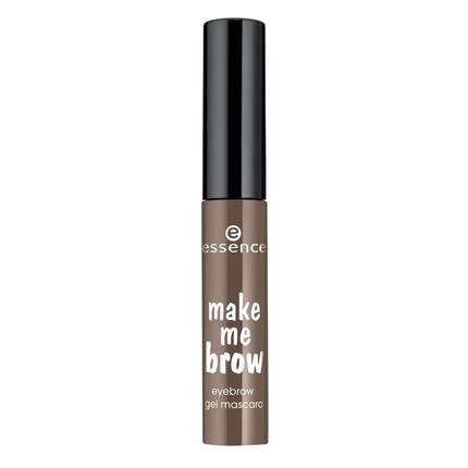 Цветной гель для бровей (тон 02) темно-коричневый essence (Essence)