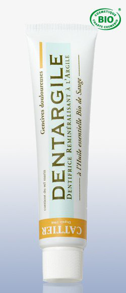 Зубная паста дентаржиль с шалфеем для чувствительных десен (75 мл) cattier (Cattier)