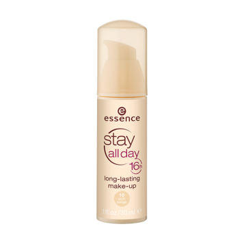 Тональная основа (тон 10) soft beige stay all day 16h long-lasting essence (Essence)