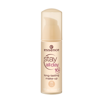 Тональная основа (тон 20) soft nude stay all day 16h long-lasting essence (Essence)