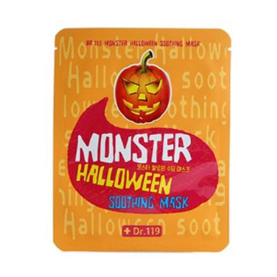 Маска для лица успокаивающая dr.119  monster halloween soothing mask baviphat (Baviphat)