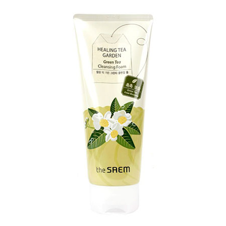 ����� ����������� � ���������� �������� ��� healing tea garden green tea cleansing foam the saem (The Saem)