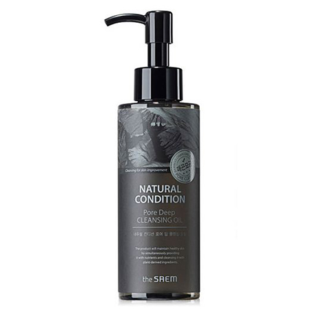 ����� ��������� ���� natural condition pore deep cleansing oil the saem (The Saem)