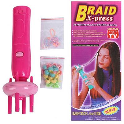 Машинка для плетения косичек braid x-press tvshop (TvShop)