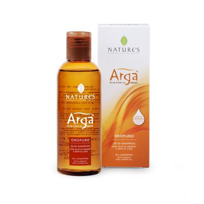 Arga шампунь для частого использования шелковистый silky nature's